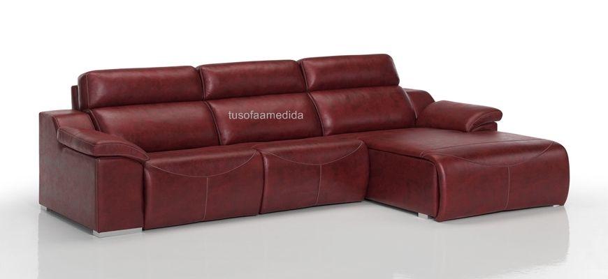 Sofá relax motor de alta calidad a un precio inmejorable. Diseña tu sofá con los asientos relax que necesites y añade el módulo chaise longue. Disponible también en sofá lineal y rinconera.
