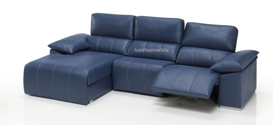Outlet de sof s y chaise longue comprar sof relax c rcega for Sofas relax con motor
