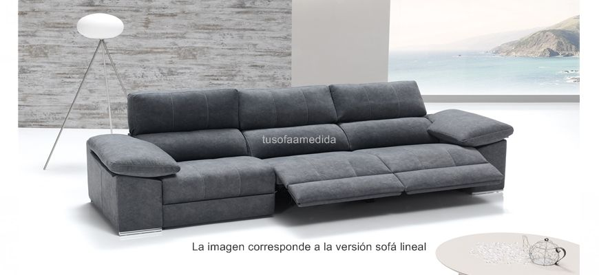 Sof 225 Relax El 233 Ctrico Con Chaise Longue
