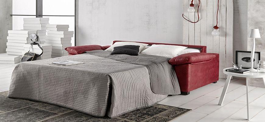 Sofá cama apertura italiana con brazos siesta en diferentes medidas para adaptarlo a tu salón. Disponible también con colchón largo XL 200 cm. Magnífica relación calidad-precio.