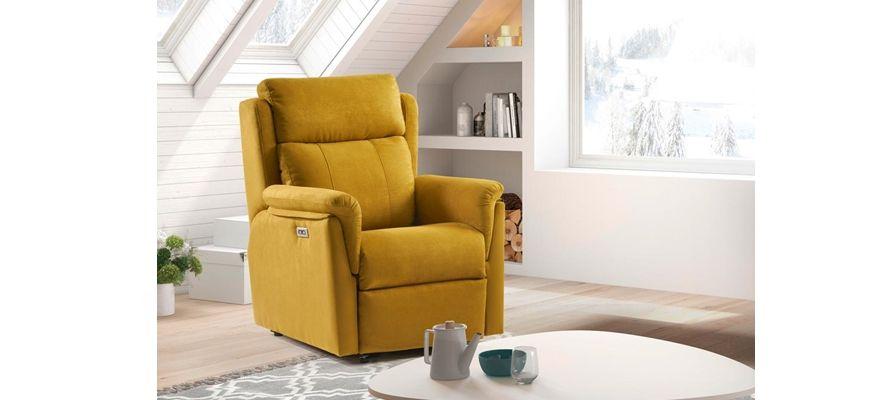 Sillón Relax suave y adaptable, gran confort, perfección en los detalles. Disponible en versión sillón relax manual, sillón relax elevador 1 motor , sillón elevador 2 motores.