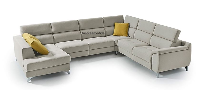 Un excelente sofá rinconera , tanto en grandes dimensiones como en tamaños reducidos la mejor elección, opción a tantas sentadas de relax motorizado como necesite tu familia.