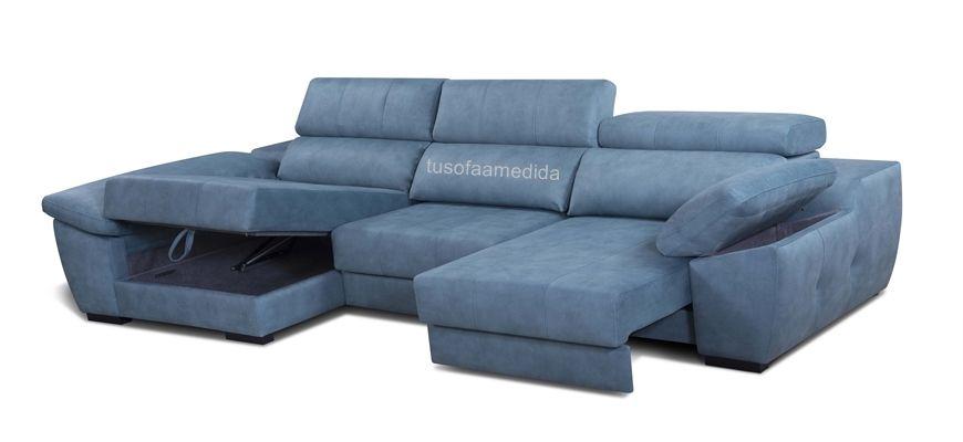 Excelente sofá ideal para disfrutar de una amplitud innusual, sus asientos se alargan tanto que no sabes si estás en el sofá o en un chill lout.